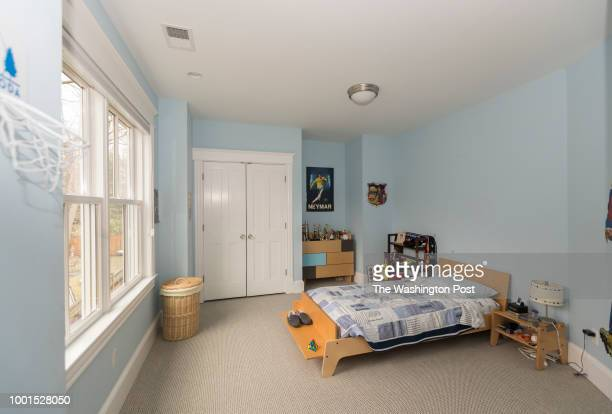 Melissa Davidson has her son's room photographed for a redesign on Monday February 20 2018 in Chevy Chase MD