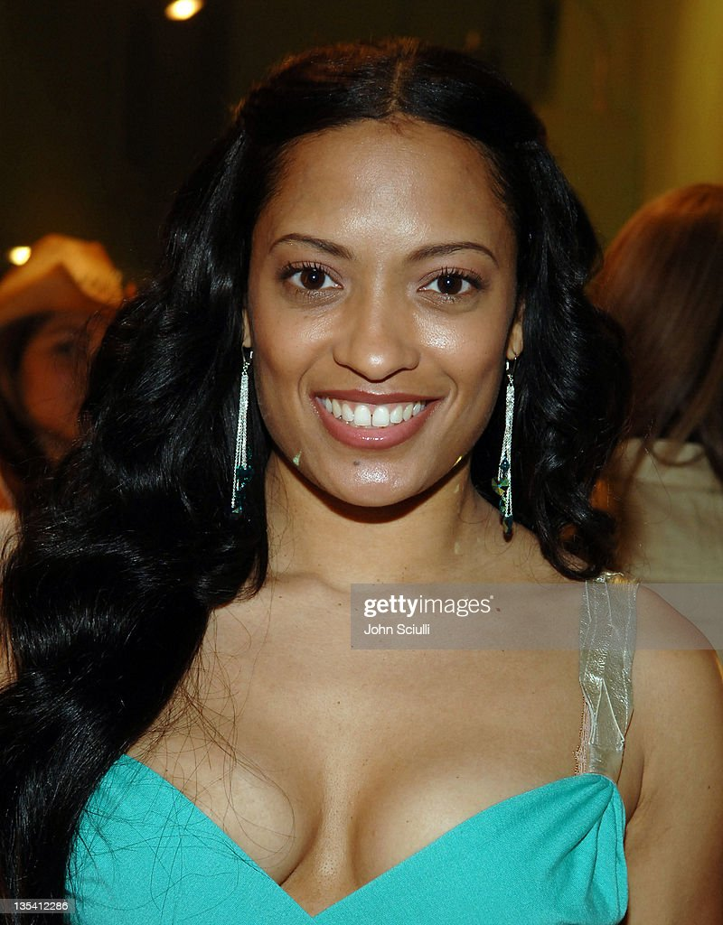 Melissa De Sousa During Damone Roberts Product Line Launch Party At