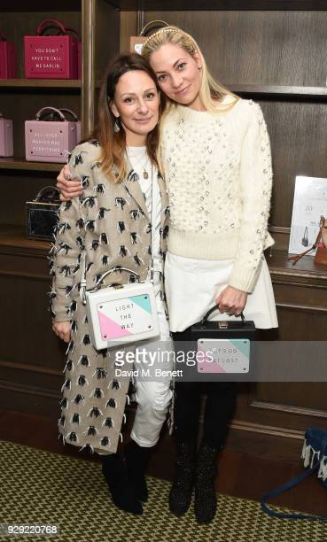 Melissa del Bono and Annika Murjahn attend an International Women's Day Breakfast hosted by meli melo and The Walkabout Foundationon on March 8 2018...