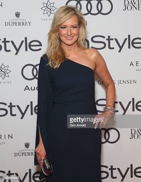 Melissa Doyle arrives ahead InStyle and Audi Women of Style Awards at The Star on May 12 2016 in Sydney Australia