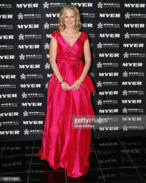 Melissa Doyle arrives at the 2010 Precious Metal Ball in support of the Olivia NewtonJohn Cancer and Wellness Centre at Peninsula the Docklands on...
