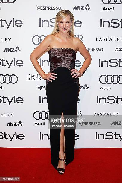 Melissa Doyle arrives at the Instyle and Audi 'Women of Style' Awards on May 21 2014 in Sydney Australia