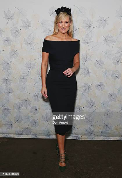 Melissa Doyle attends the Crown Resorts Ladies Lunch at Inglis Stables at Inglis Newmarket Stables on March 18 2016 in Sydney Australia
