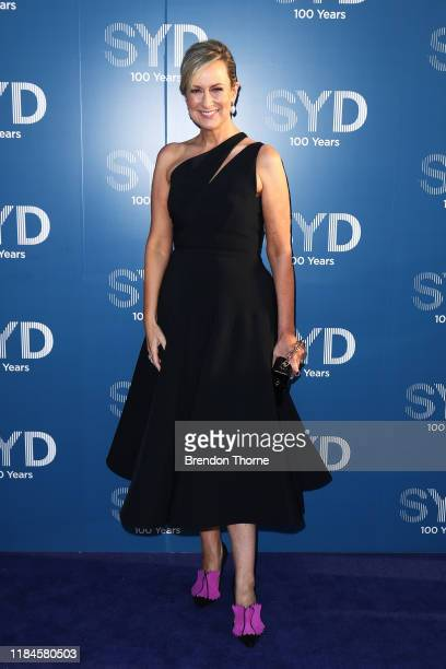 Melissa Doyle attends the Sydney Airport 100 Year Gala Event on October 31 2019 in Sydney Australia