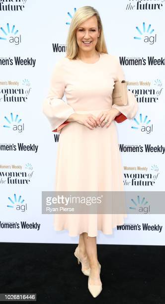 Melissa Doyle attends the Women of the Future Awards at Quay on September 5, 2018 in Sydney, Australia.