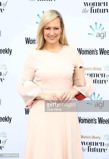 Melissa Doyle attends the Women of the Future Awards at Quay on September 5 2018 in Sydney Australia