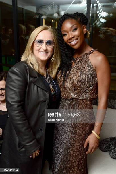 Melissa Etheridge and Brandy attend the 11 th Annual Primary Wave PreGrammyÕs Event at the London Hotel in West Hollywood