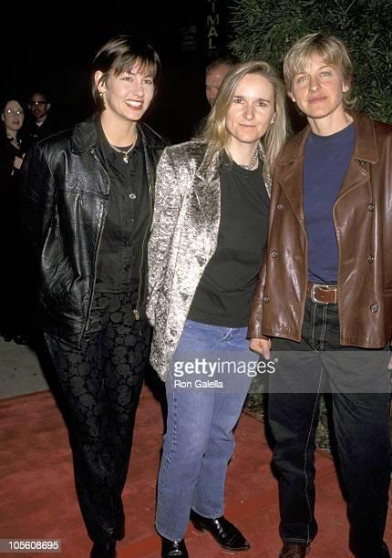 Melissa Etheridge and Girlfriend Julie Cypher and Ellen DeGeneres