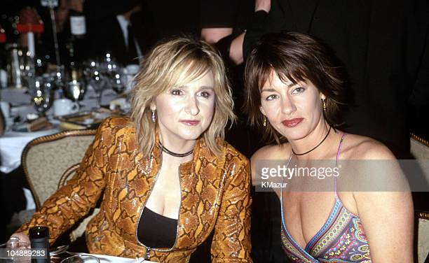 Melissa Etheridge and girlfriend Julie Cypher during 15th Annual Rock and Roll Hall of Fame Induction Ceremony 2000 at Waldorf=Astoria in New York...