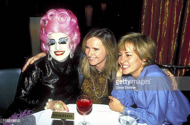 Melissa Etheridge and girlfriend Julie Cypher during The GoGo's at Metronome October 23 1994 at Metronome in New York City New York United States