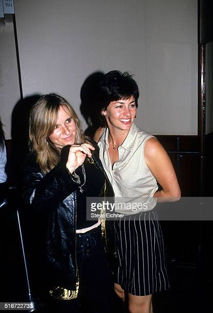 Melissa Etheridge and Julie Cypher at Lifebeat benefit at Beacon Theater, New York, June 24, 1994.