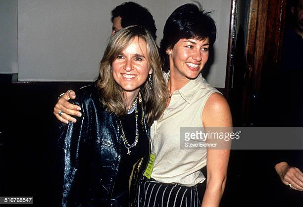 Melissa Etheridge and Julie Cypher at Lifebeat benefit at Beacon Theater New York June 24 1994
