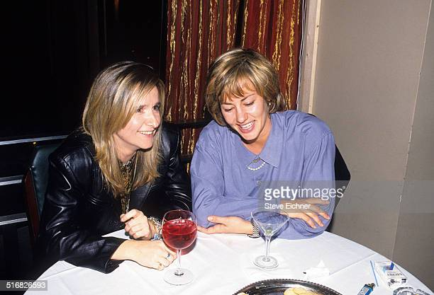 Melissa Etheridge and Julie Cypher at Tammy Wynette Party at the Metronome, New York, October 25, 1994.