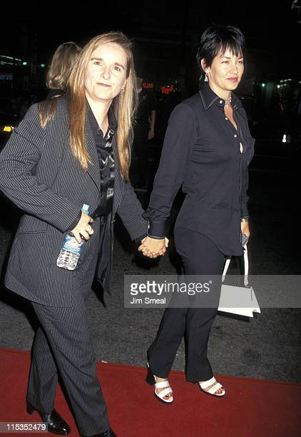 "Melissa Etheridge and Julie Cypher during Premiere of ""L.A. Confidential"" in Los Angeles at Mann's Chinese Theater in Los Angeles, California, United..."