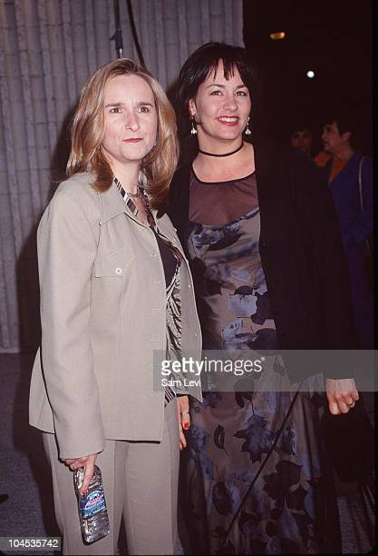 Melissa Etheridge and Julie Cypher during Six Days Seven Nights Premiere at Avco Cinema in Westwood California United States