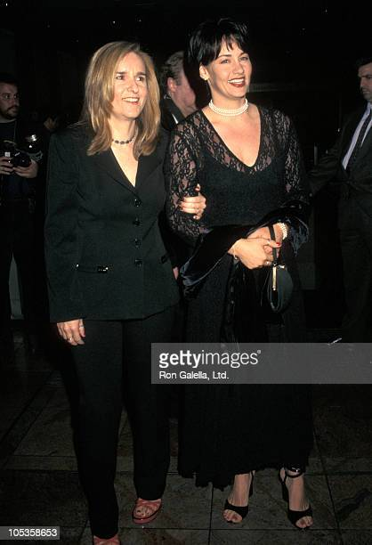 Melissa Etheridge and Julie Cypher during TJ Martel Foundation Gala Honors Jim Caparro at New York Hilton Hotel in New York City, New York, United...