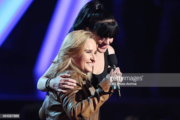 Melissa Etheridge and Pauley Perrette during the THE GRAMMY NOMINATIONS CONCERT LIVE Ñ COUNTDOWN TO MUSIC'S BIGGEST NIGHT¨ broadcast Friday Dec 6 on...