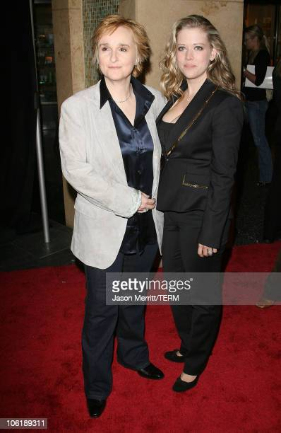 Melissa Etheridge and Tammy Lynn Michaels during 24th Annual ASCAP Pop Music Awards Arrivals at Kodak Theatre in Hollywood California United States
