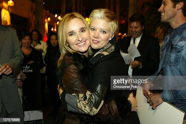 Melissa Etheridge and Tammy Lynn Michaels during Melissa Etheridge Live and Alonethe movie at The Egyptian Theater in Hollywood
