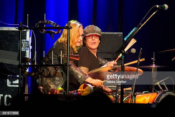 Melissa Etheridge and Tommy Lee perform at 3rd annual Acoustic4aCure benefit concert at The Fillmore on May 15 2016 in San Francisco California