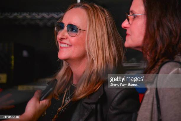 Melissa Etheridge and wife Julie Willem at 2018 NAMM She Rocks Awards held at The Anaheim House Of Blues on January 26 2018 in Anaheim CA