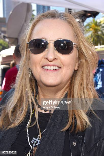 Melissa Etheridge at 2018 Women's March Los Angeles at Pershing Square on January 20 2018 in Los Angeles California