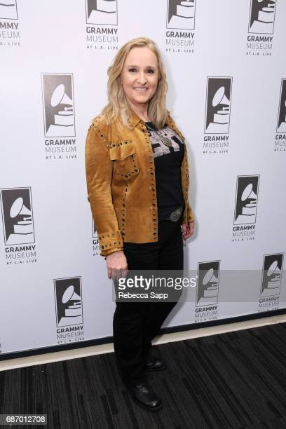 Melissa Etheridge attends An Evening with Melissa Etheridge at The GRAMMY Museum on May 22 2017 in Los Angeles California