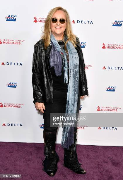 Melissa Etheridge attends MusiCares Person of the Year honoring Aerosmith at West Hall at Los Angeles Convention Center on January 24 2020 in Los...