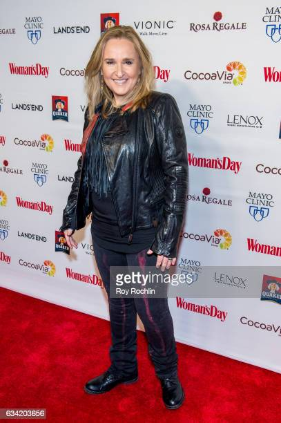 Melissa Etheridge attends the 14th annual Woman's Day Red Dress Awards at Jazz at Lincoln Center on February 7 2017 in New York City