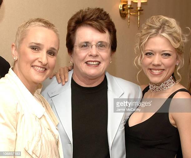 Melissa Etheridge Billie Jean King and Tammy Lynn Michaels