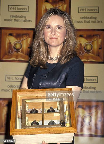 Melissa Etheridge during 1st Annual VH1 Honors Artists and Their Causes at Shrine Auditorium in Los Angeles California United States
