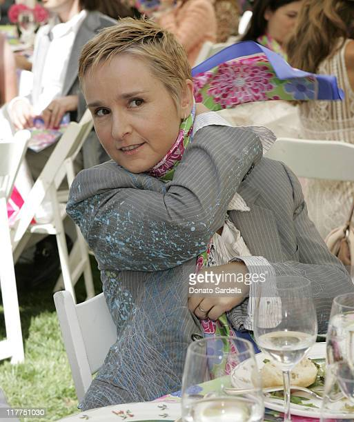 Melissa Etheridge during Melissa Etheridge Honored at Ford's 2005 'Get Tied to the Cause' Breast Cancer Awareness Luncheon at Bel Air Hotel in Los...