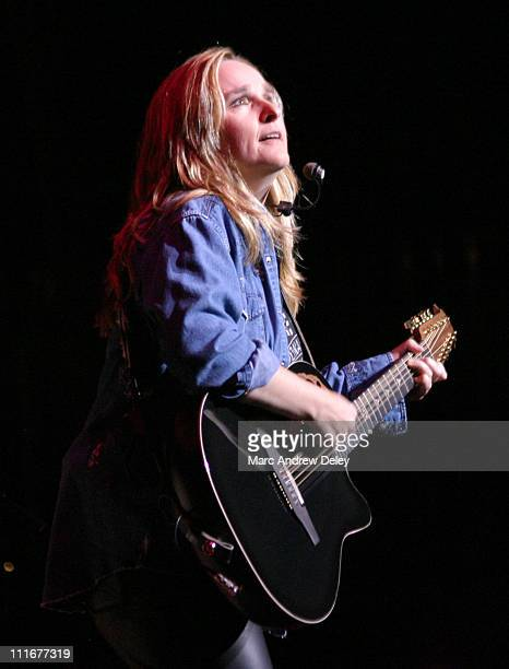 Melissa Etheridge during Melissa Etheridge Live in Concert June 25 2004 at Shea's Performing Arts Center in Buffalo New York United States