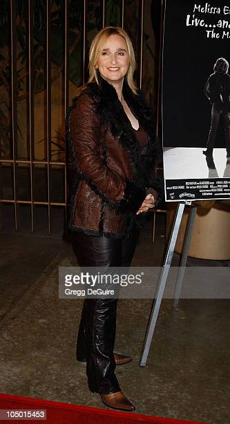 Melissa Etheridge during Melissa Etheridge Liveand Alone The Movie Arrivals at Egyptian Theatre in Hollywood California United States