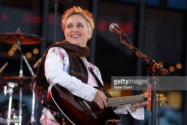 Melissa Etheridge during Melissa Etheridge Performs on 'Good Morning America' October 19 2005 at 'Good Morning America' Studios in New York City New...