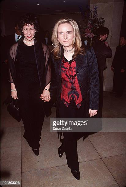 Melissa Etheridge & Julie Cypher during Artists Rights Foundation Honors Tom Cruise with 1998 John Huston Award at Beverly Hilton Hotel in Beverly...