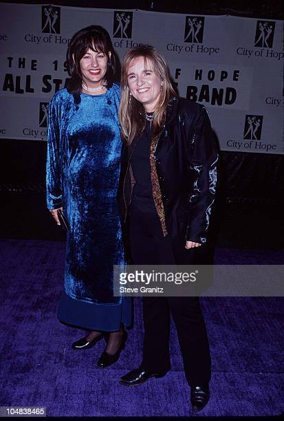 Melissa Etheridge Julie Cypher during City of Hope 96 Spirit of Life Award at Universal City Walk in Universal City California United States