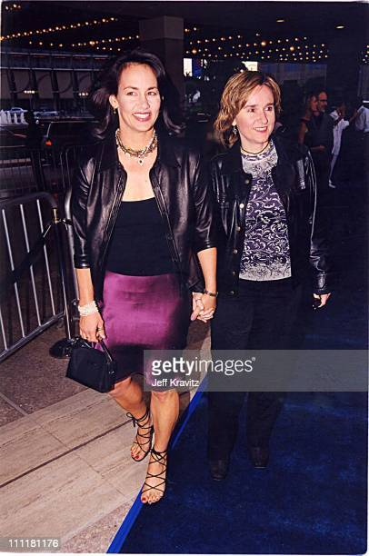 Melissa Etheridge Julie Cypher during Love Letter World Premiere Arrivals at Cineplex Odeon Theater in Century City California United States