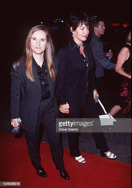 Melissa Etheridge Julie Cypher during Premiere of LA Confidential in Los Angeles at Mann's Chinese Theater in Los Angeles California United States