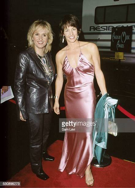 Melissa Etheridge Julie Cypher during The 27th Annual American Music Awards at Shrine Auditorium in Los Angeles California United States