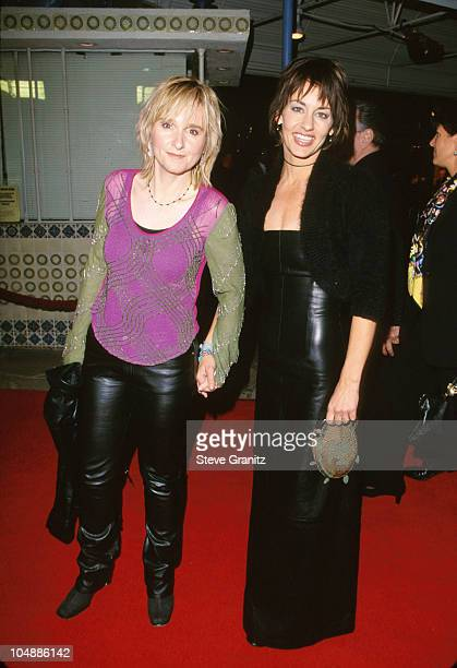 Melissa Etheridge Julie Cypher during The Talented Mr Ripley Los Angeles Premiere at Mann Village Theatre in Westwood California United States