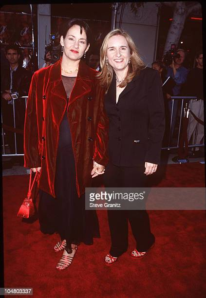 Melissa Etheridge Julie Cypher during The XFiles Los Angeles Premiere at Mann Village Theatre in Westwood California United States