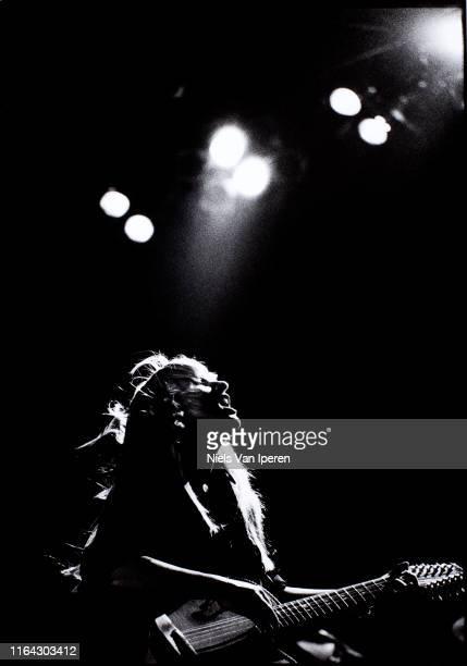 Melissa Etheridge performing on stage Ahoy Rotterdam Netherlands 10th October 1992