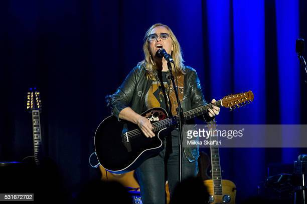 Melissa Etheridge performs at 3rd annual Acoustic4aCure benefit concert at The Fillmore on May 15 2016 in San Francisco California