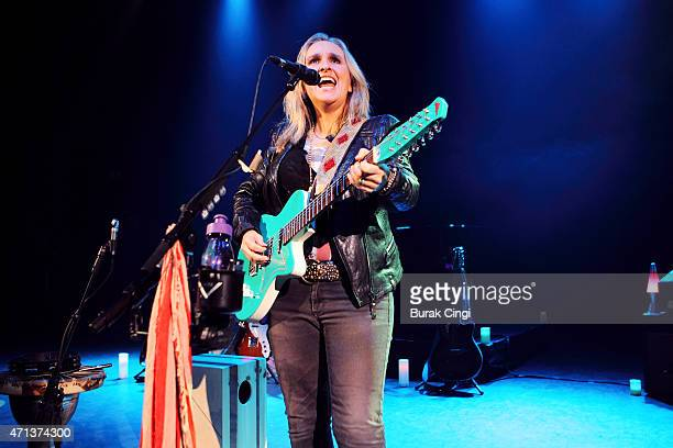 Melissa Etheridge performs at O2 Shepherd's Bush Empire on April 27 2015 in London United Kingdom