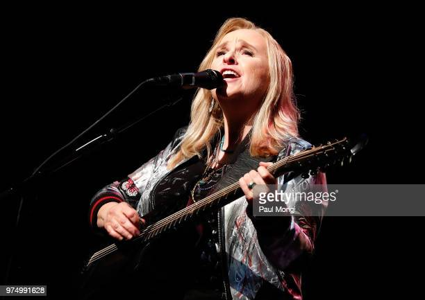 Melissa Etheridge performs at the 2018 National Geographic Awards at GWU Lisner Auditorium on June 14 2018 in Washington DC The award ceremony was...