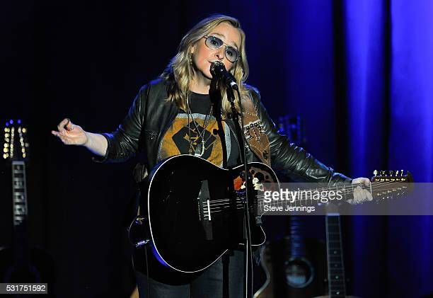 Melissa Etheridge performs at the 3rd Annual Acoustic4ACure concert a Benefit for the Pediatric Cancer Program at UCSF Benioff Children's Hospital at...
