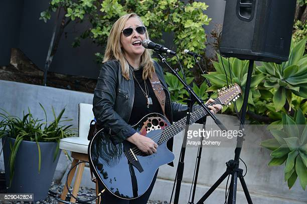 Melissa Etheridge performs at the Women in Film spotlights women composers and songwriters on May 7 2016 in Los Angeles California