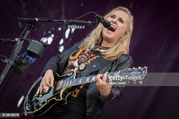 Melissa Etheridge performs on Day 2 of the RBC Bluesfest on July 7 2017 in Ottawa Canada