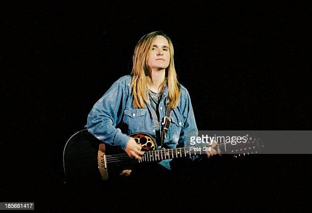Melissa Etheridge performs on stage at the Empire Theatre Shepherds Bush on January 30th 1996 in London England
